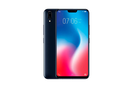 Vivo V9: diseño con notch y un dudoso reclamo de Inteligencia Artificial para la gama media