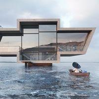 Una arquitecta convierte los logos de las marcas de coches en imposibles casas de ensueño
