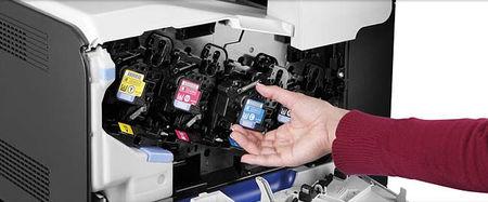 El uso de consumibles no originales puede limitar las actualizaciones de las impresoras