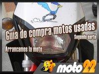 Guía de compra motos usadas: Arrancamos la moto