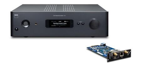 NAD lanza el C 399, un amplificador estéreo modular con reproductor de streaming y HDMI eARC que podrás conectar a la tele