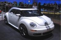 Volkswagen New Beetle, segunda generación en 2011