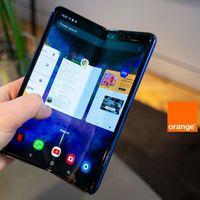 Precios Samsung Galaxy Fold con tarifas Orange y seguro móvil gratis un año