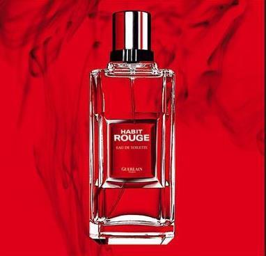 'Habit Rouge' fué la primera fragancia oriental masculina