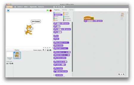 Scratch Interfaz Xataka