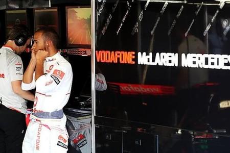 Lewis Hamilton y McLaren-Mercedes al frente en los primeros libres de Monza