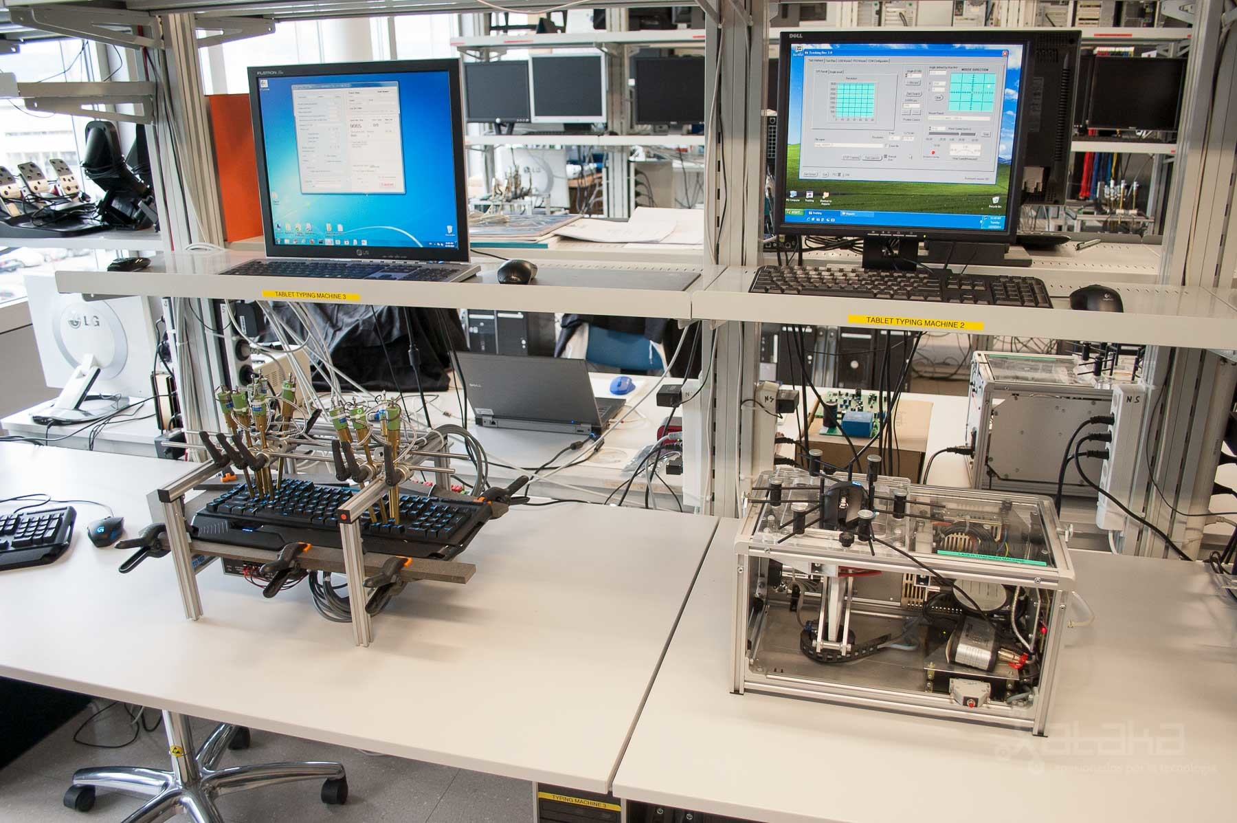 Foto de Logitech Lausanne, visita a sus laboratorios (36/49)