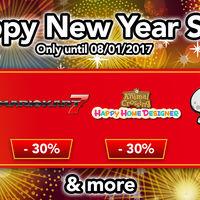 Nintendo anuncia sus ofertas digitales para Wii U y Nintendo 3DS con motivo del año nuevo