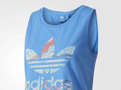 40% de descuento en el top azul de Adidas Originals supblu: ahora 17,95 euros en Zalando con envío gratis