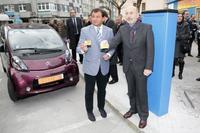 A Coruña estrena sus puntos de recarga eléctrica