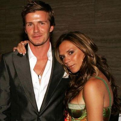 Victoria y david Beckham 2005