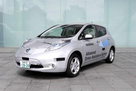 Conducción autónoma Nissan Leaf