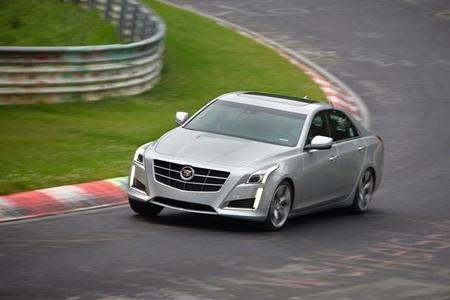 Cadillac CTS Vsport bate su mejor tiempo en Nürburgring