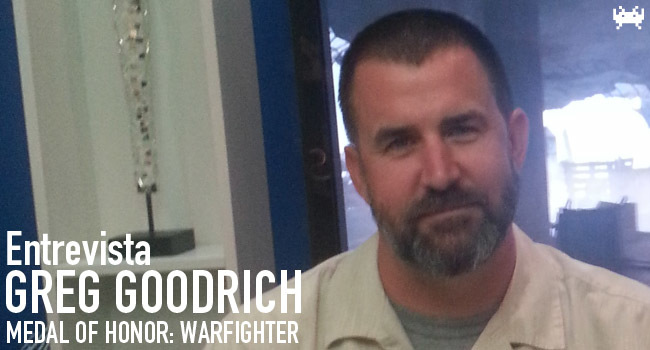 Entrevista a Greg Goodrich (Medal of Honor: Warfighter)