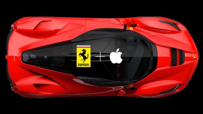 Laferrari colaboración entre Ferrari y Apple