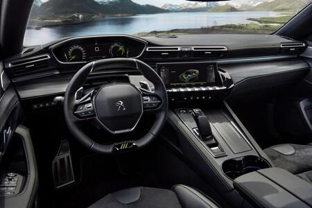 Interior 508 Peugeot Sport