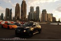 Nissan Juke-R contra Lamborghini Gallardo, Ferrari 458 Italia y Mercedes-Benz SLS AMG