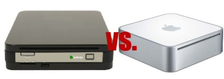 Comparativa: Everex gPC mini vs Mac mini