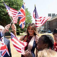 Floris London firma el nuevo (y súper exclusivo) perfume de Melania Trump tras su visita a Londres