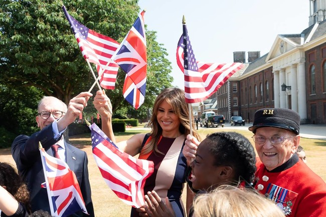 Melania Trump Uk