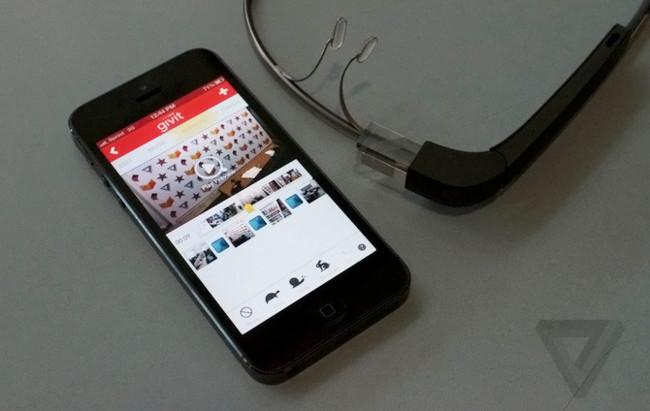 Givit para iPhone con soporte de Google Glass