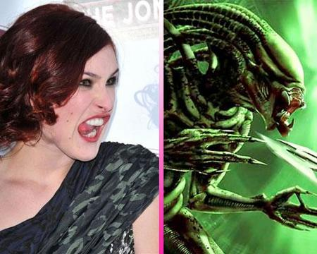 Separados al nacer: Rumer Willis Vs Alien