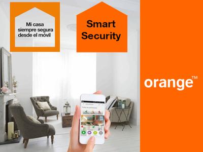 Smart Security, Orange se prepara para el hogar conectado comenzando con una solución de seguridad