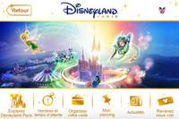 Aplicaciones viajeras : Disneyland París
