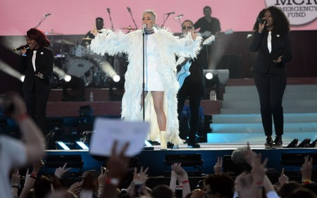 El detalle más emotivo de Katy Perry en el concierto homenaje a las víctimas de Manchester lo encontramos en su vestido