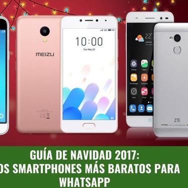Guía de compras de Navidad: los smartphones más baratos para WhatsApp