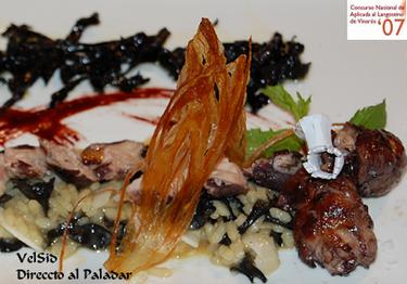 Platos libres del Concurso Nacional de Cocina Aplicada al Langostino de Vinaròs