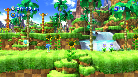 Sonic Generations 4k