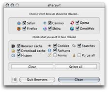 AfterSurf: Limpia tu paso por los navegadores de Internet