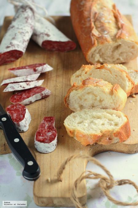 Receta de pan casero de masa madre y lenta fermentación