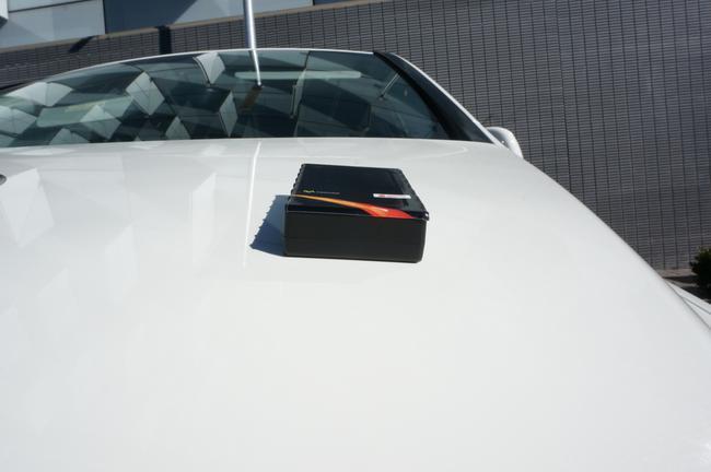 caja sobre coche