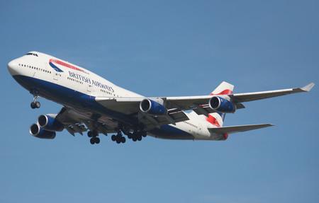 Boeing 747 400 British