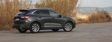 Probamos el Ford Kuga Hybrid: el SUV híbrido sin enchufe que te hará abandonar el diésel