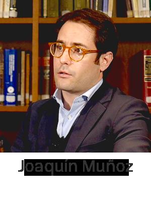 Joaquín Muñoz, abogado