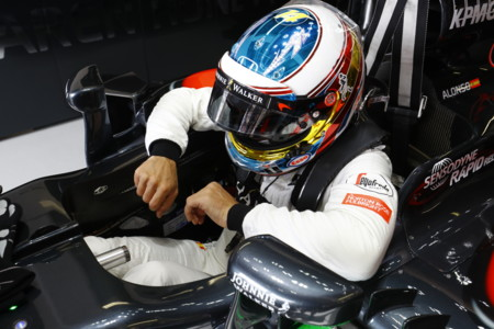 Fernando Alonso Entrada Coche Gp Monaco 2016
