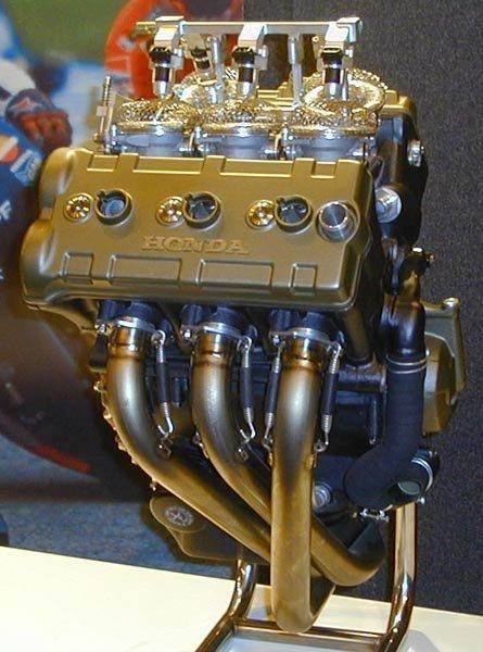Motor Honda V5 de MotoGP
