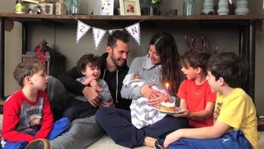 Un bebé con Síndrome de Edwards que vivió apenas diez días rodeado del amor de su familia
