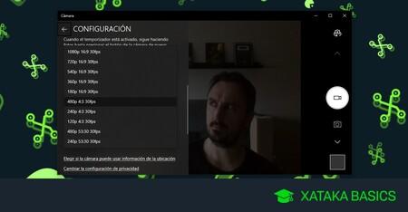 Cómo probar tu webcam en Windows 10 y ver si funciona y sus características