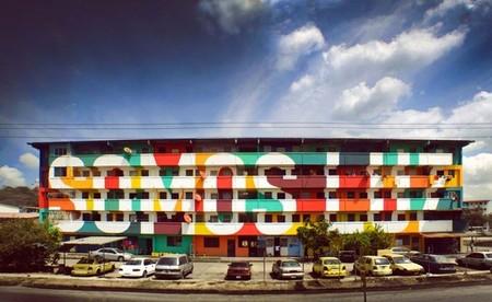 'Somos luz', arte urbano que crea comunidad, decora e inspira para el día a día