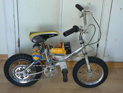 Papá, ¿Que haces con mi bici?