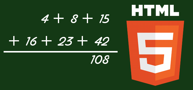 Output HTML5
