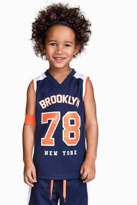 Camiseta Baloncesto Hym Nino