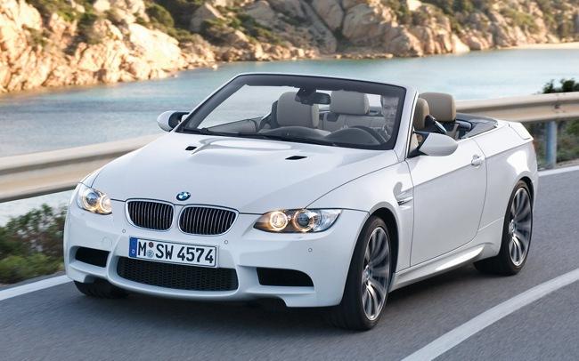 BMW M3 cabrio blanco (2008)