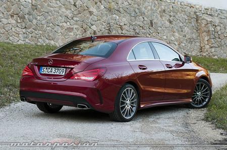 Mercedes-Benz Clase CLA, presentación y prueba en Saint -Tropez