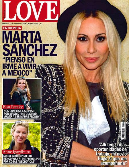 Marta Sánchez en Love