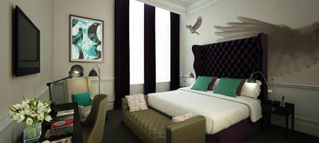 Habitación Deluxe en el hotel Ampersand